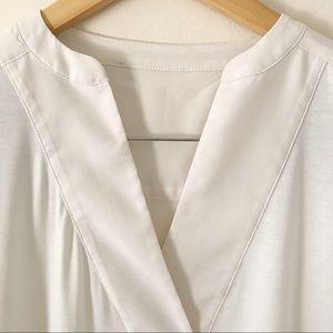 White House Black Market Tops - WHBM White House Black Market cotton tunic
